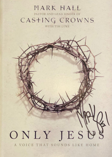 **Autographed** Only Jesus: A Voice That Sound Like Home Devotional Book