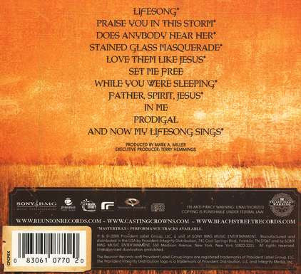 cd de casting crowns lifesong