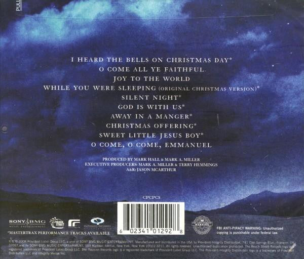 Casting Crowns I Heard The Bells On Christmas Day.Peace On Earth Cd