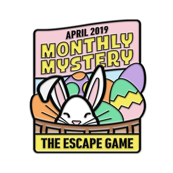 Basket Case Monthly Mystery Pin