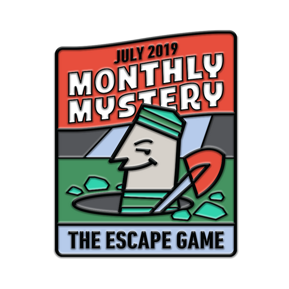 Escape From Iron Gate Monthly Mystery Pin