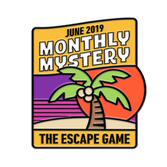 Lava Escape Monthly Mystery Pin