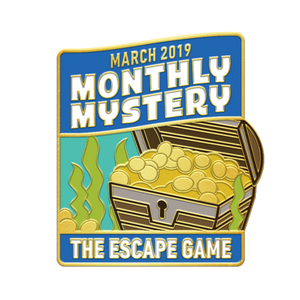 Sunken Treasure Monthly Mystery Pin
