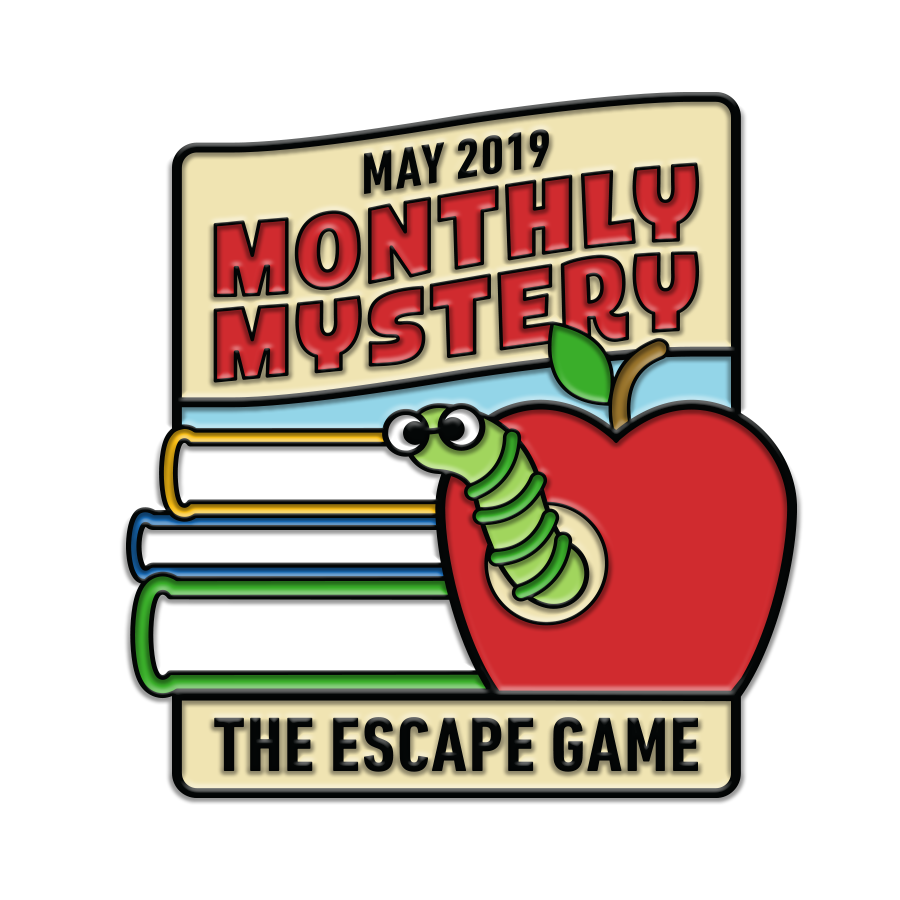 School's Out Monthly Mystery Pin