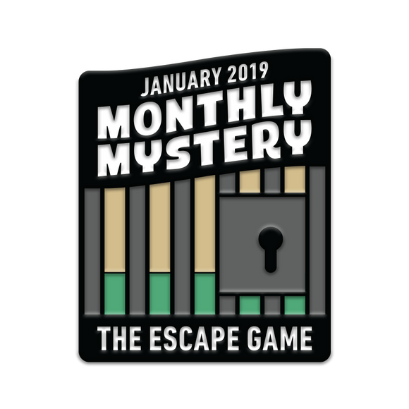 Iron Gate Escape Monthly Mystery Pin