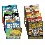 Monthly Mystery Pin Pack (Nov. '18 - Aug. '19)
