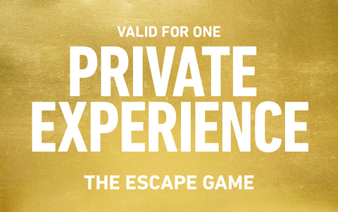Dallas Private Experience Gift Card