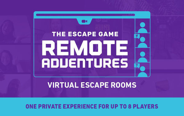 Remote Adventures (Virtual Escape Room) Private Experience Gift Card