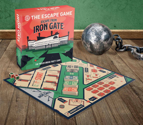 Escape From Iron Gate (international send)