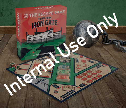 Escape From Iron Gate: Internal Sending Only