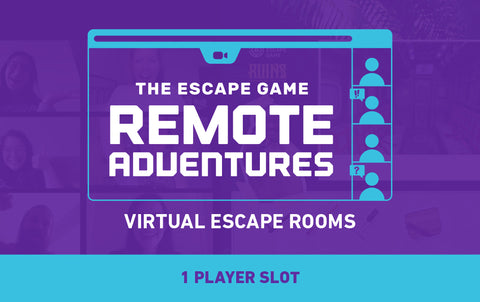 Remote Adventures (Virtual Escape Room) Single-Game Gift Card