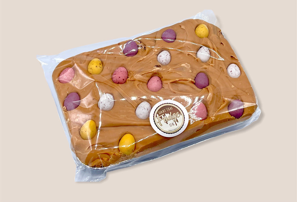 Vanilla Fudge with Mini Chocolate Eggs Sharing Tray *Available Now*