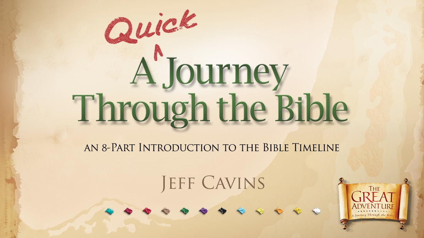 A Quick Journey Through the BIble