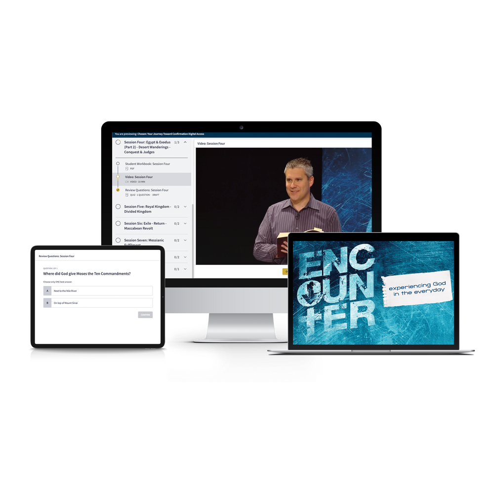 Encounter: Experiencing God in the Everyday, Online Course