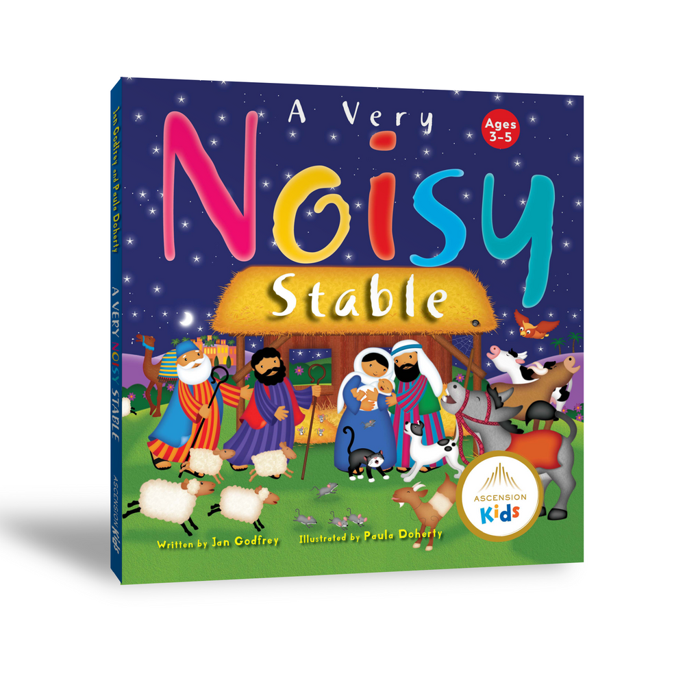 A Very Noisy Stable (Ages 3–5)
