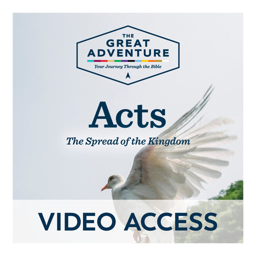 Acts: The Spread of the Kingdom Bible [Online Video Access]