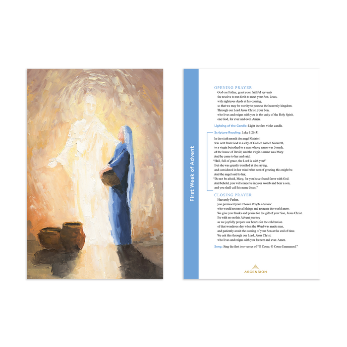 Rejoice! Advent Meditations with Joseph Journal and Advent Prayer Cards Bundle