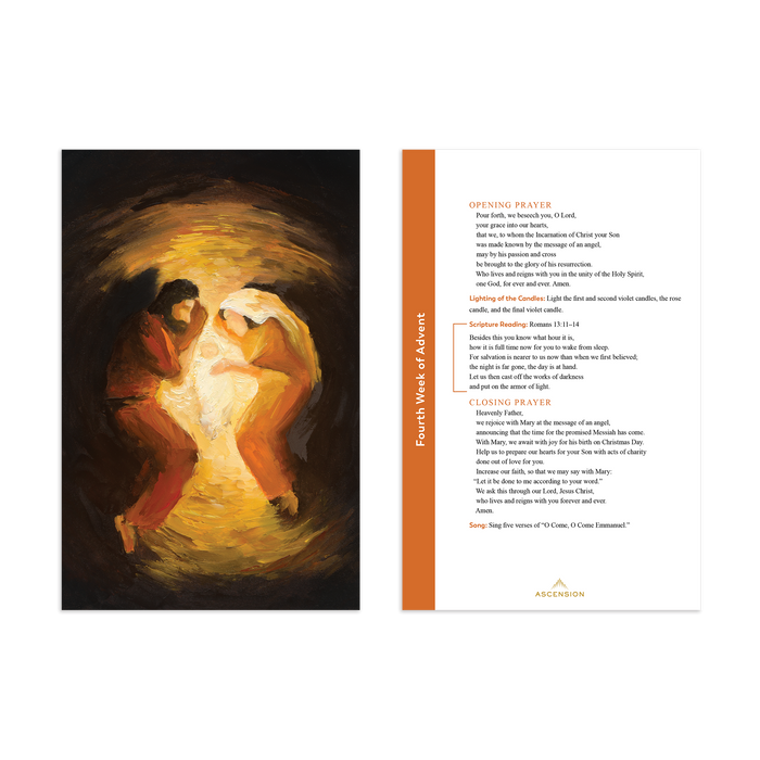 Rejoice! Advent Meditations with the Holy Family Journal and Advent Prayer Cards Bundle