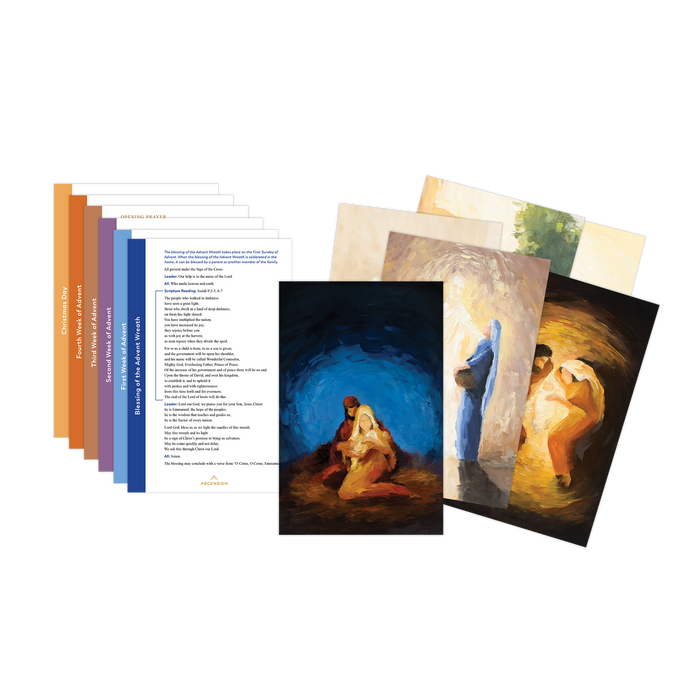 Rejoice! Advent Prayer Card Set