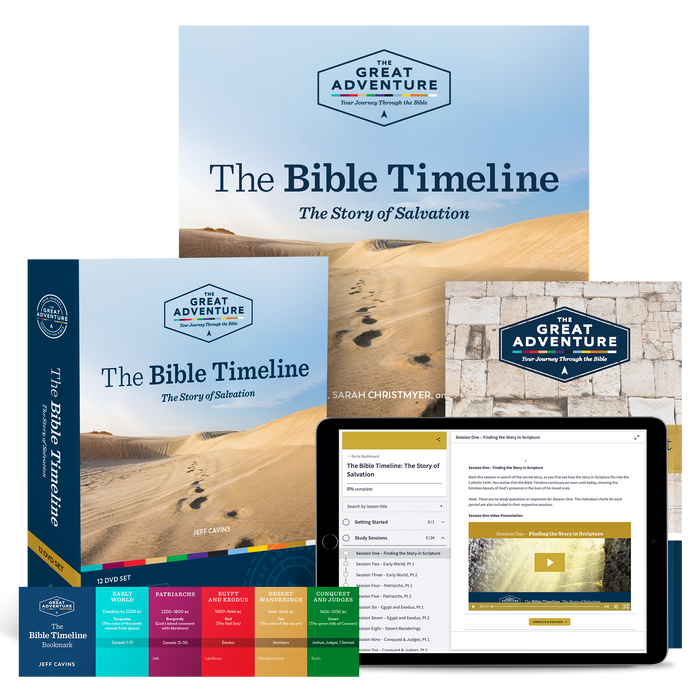 The Bible Timeline: The Story of Salvation Starter Pack