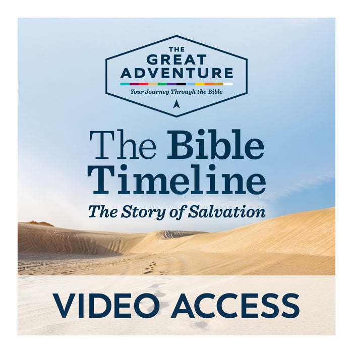 The Bible Timeline: The Story of Salvation [Online Video Access]
