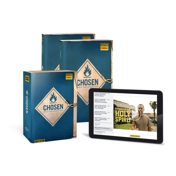 Chosen: This is Your Catholic Faith Starter Pack (Includes Online Course Access)