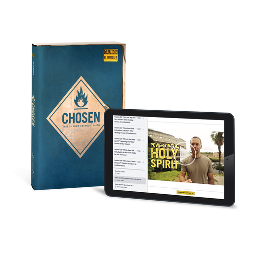 Chosen: This is Your Catholic Faith Student Workbook (Includes Online Course Access)