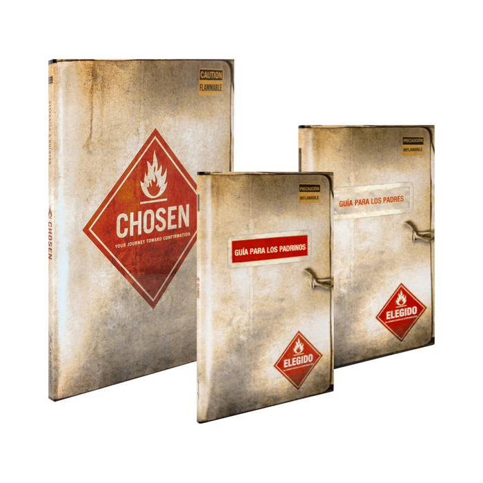 Chosen: Your Journey Toward Confirmation Student Pack with Spanish Parent and Sponsor Guides