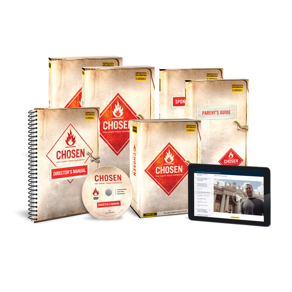 Chosen: Your Journey Toward Confirmation Starter Pack (Includes Online Course Access)