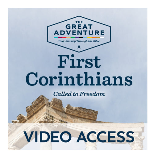 First Corinthians: The Church and the Christian Community [Online Video Access]