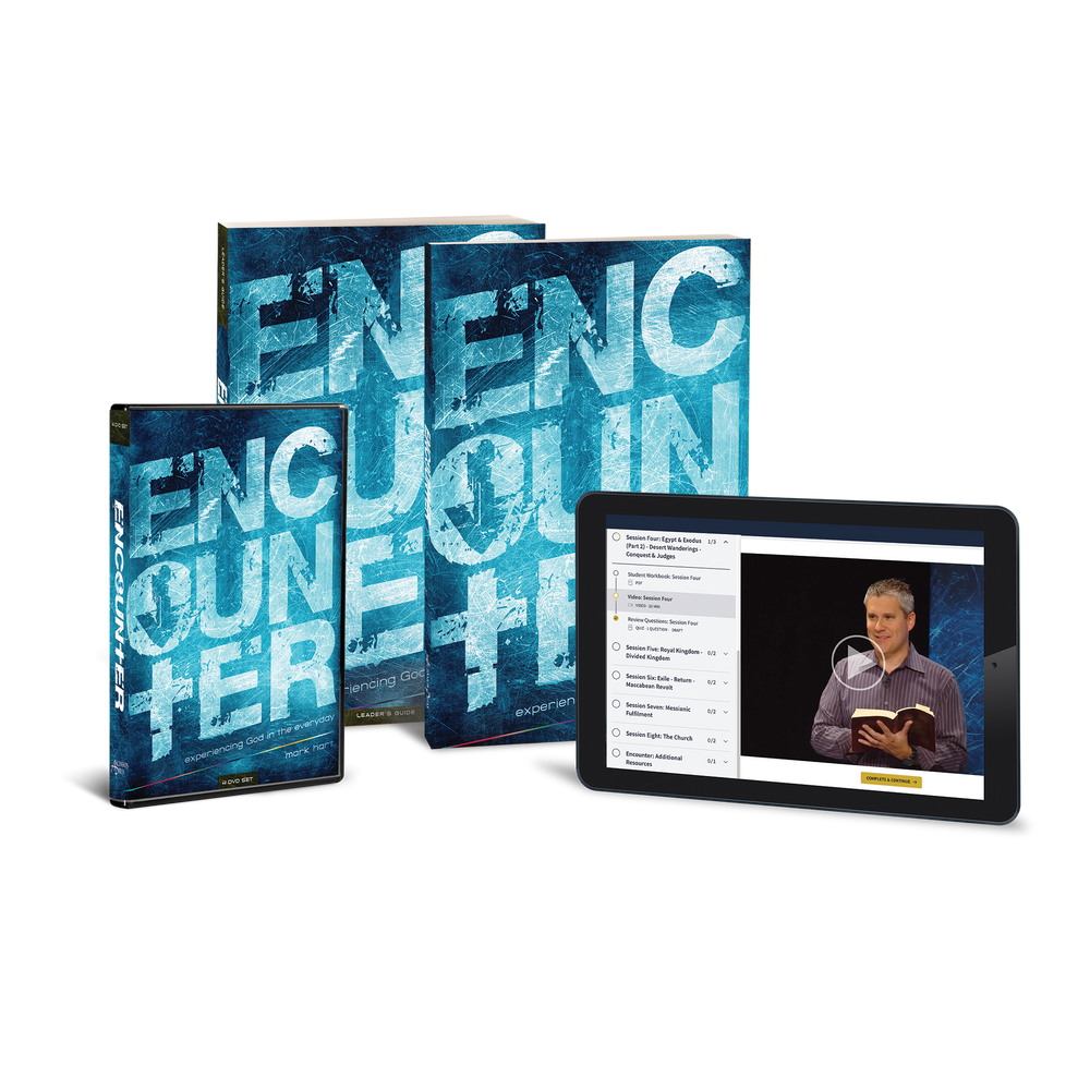 Encounter: Experiencing God in the Everyday, Starter Pack (Includes Online Course Access)
