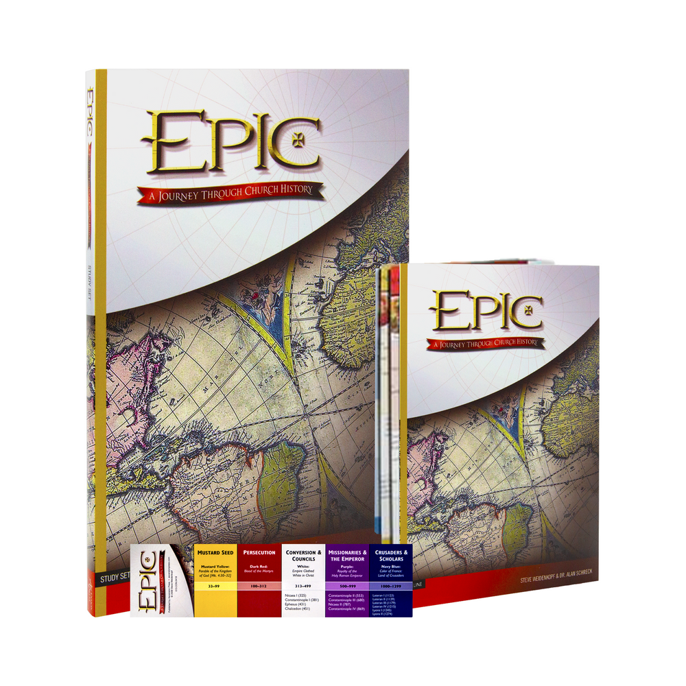 Epic: A Journey Through Church History, Study Set