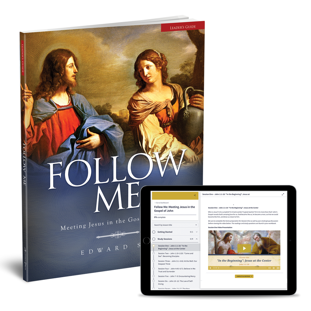 Follow Me: Meeting Jesus in the Gospel of John Leader's Set