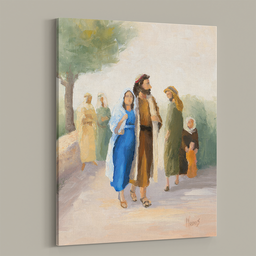 Rejoice! Fine Art Canvas Prints: Guarded