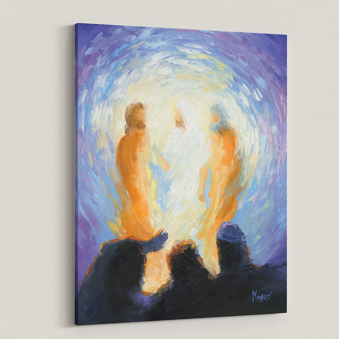 The Ascension Lenten Companion Fine Art Canvas Prints: He Was Transfigured Before Them