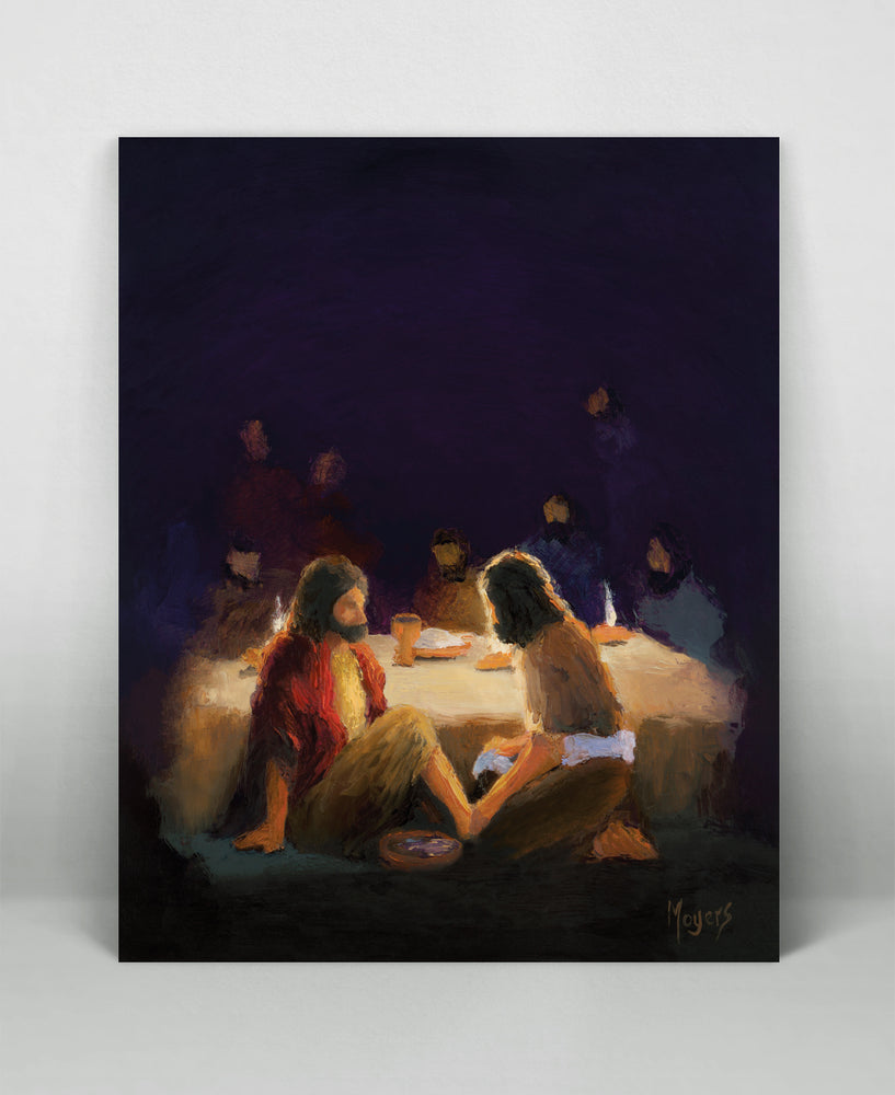 The Ascension Lenten Companion Art Prints: He Washed Their Feet