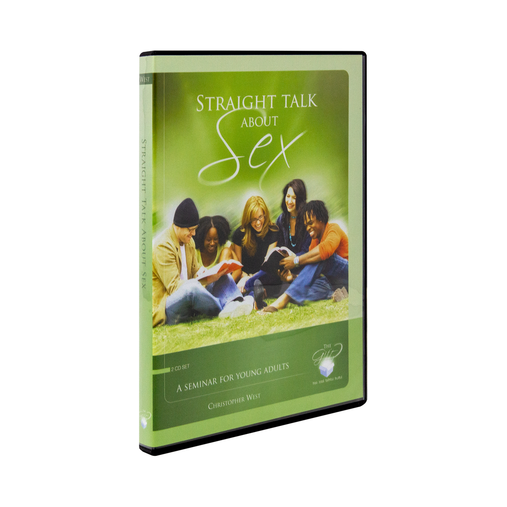 Straight Talk About Sex: A Seminar for Young Adults: 2 CD Set