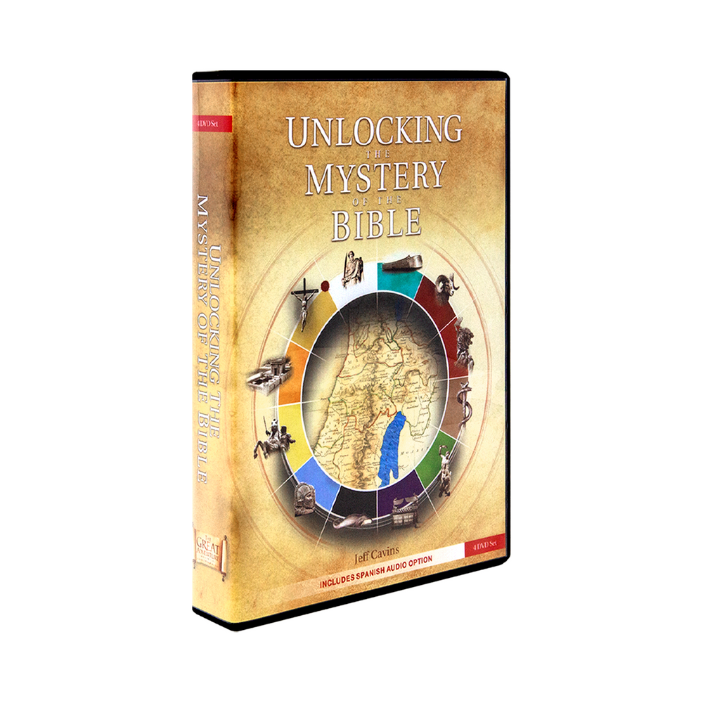Unlocking the Mystery of the Bible, 4 DVD Set (Spanish)