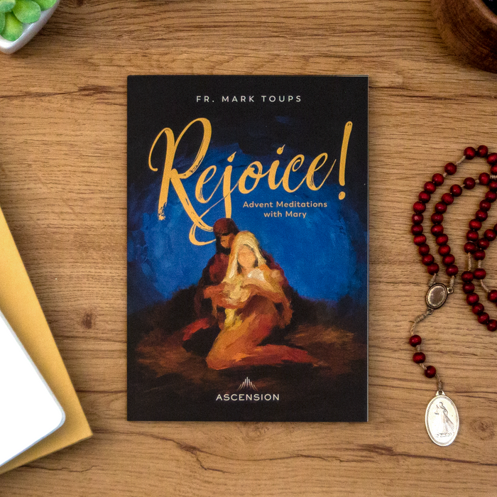 Rejoice! Advent Meditations with Mary, Journal (Pack of 10)