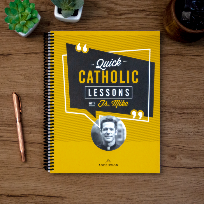 Quick Catholic Lessons with Fr. Mike: Vol. 1, Leader's Guide