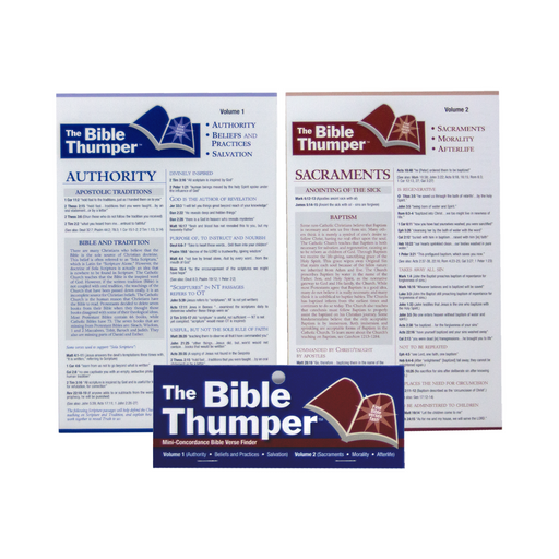 The Bible Thumper: Volumes 1 and 2