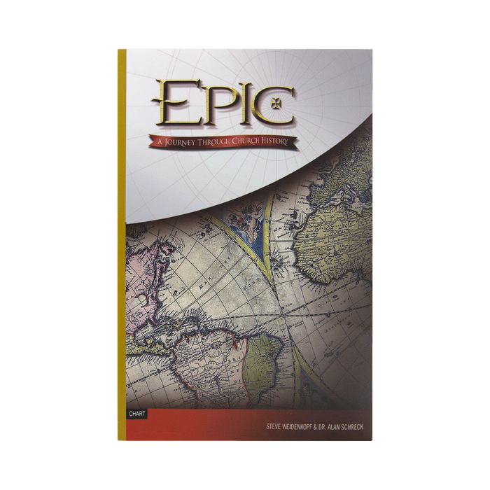 Epic: A Journey Through Church History, Timeline Chart