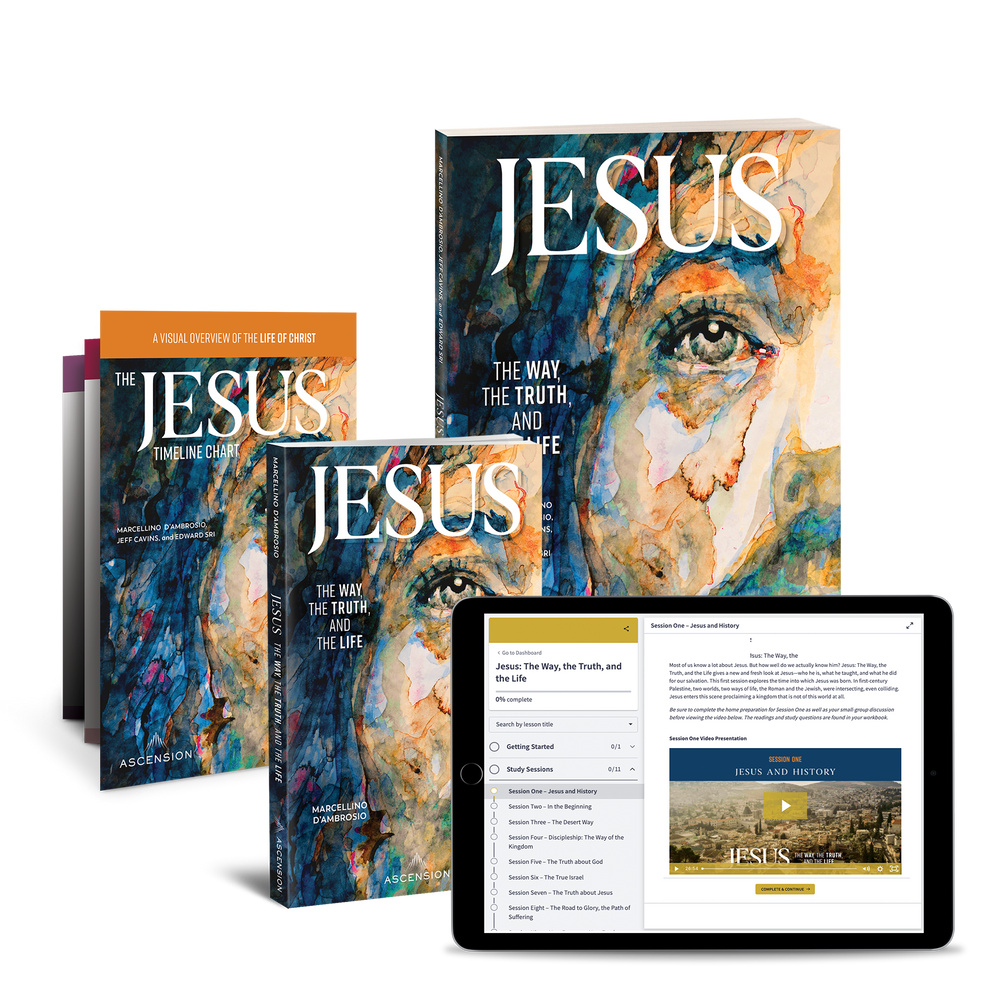 Jesus: The Way, the Truth, and the Life Study Set