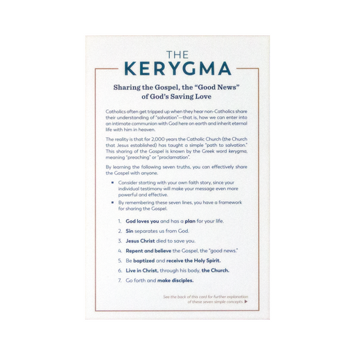 Kerygma Cards