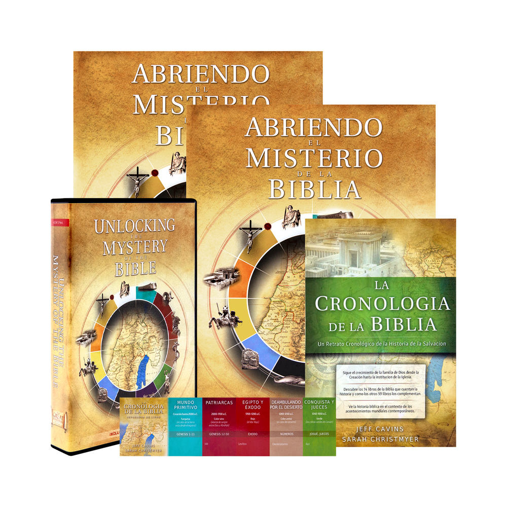 Unlocking the Mystery of the Bible, Starter Pack (Spanish)