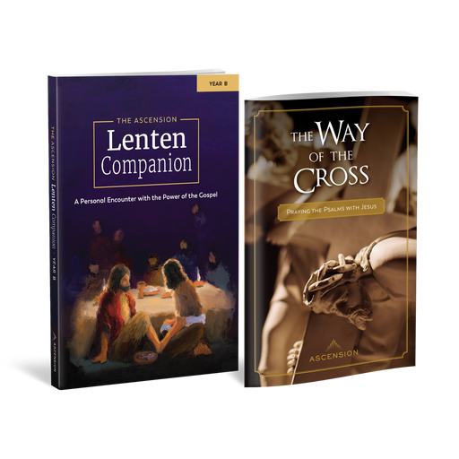 The Ascension Lenten Companion: Year B and The Way of the Cross Set