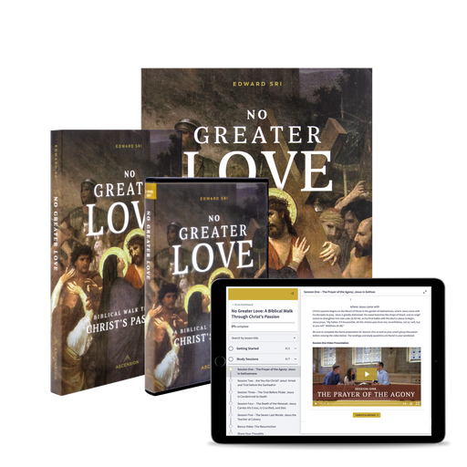 No Greater Love: A Biblical Walk Through Christ's Passion Starter Pack