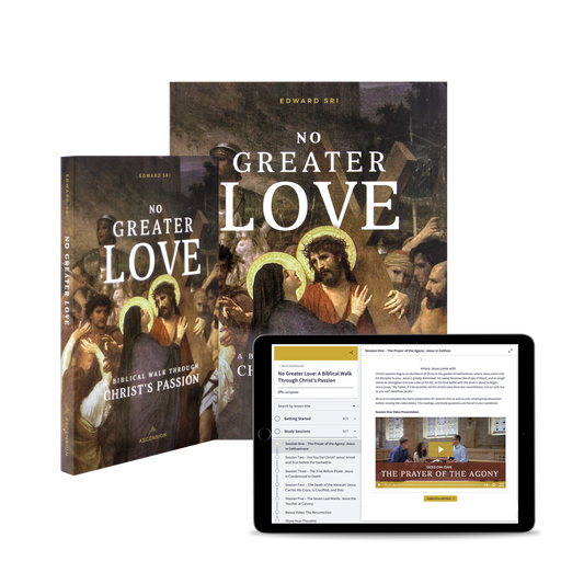 No Greater Love: A Biblical Walk Through Christ's Passion Study Set