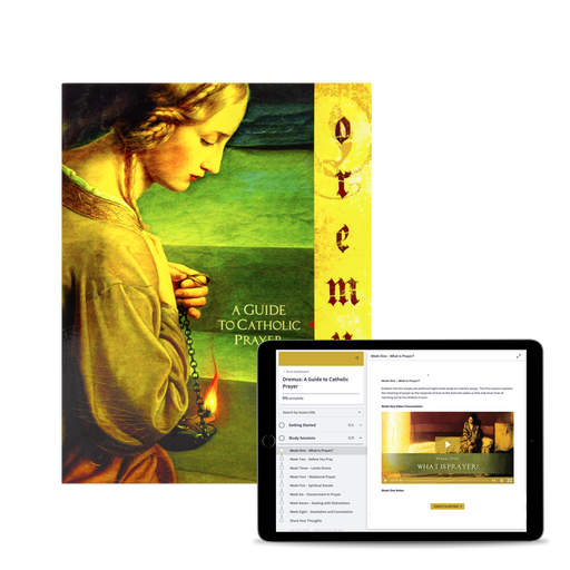 Oremus: A Guide to Catholic Prayer, Study Set