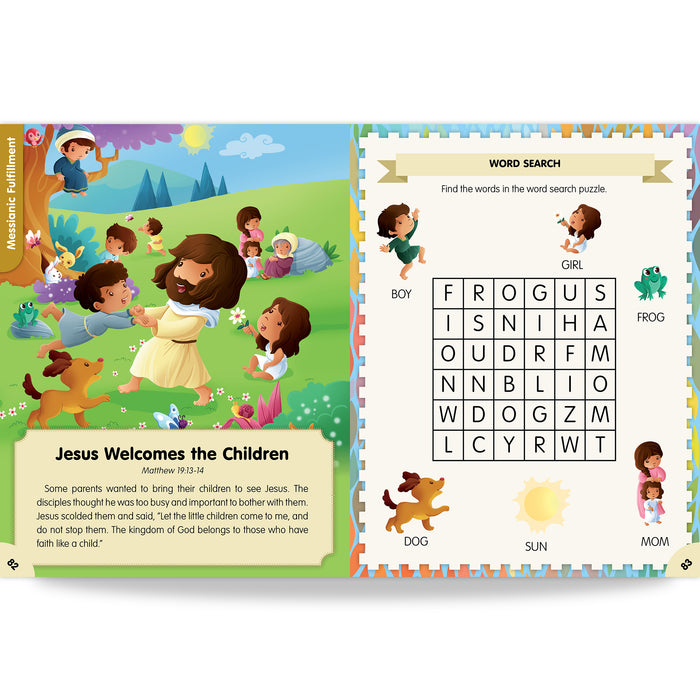 Preschooler's Catholic Bible Activities, Ages 4-7